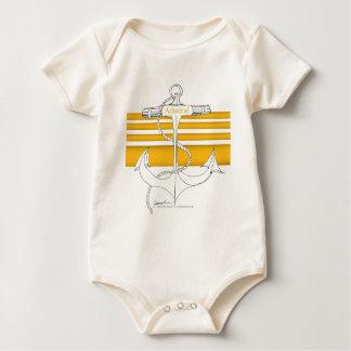 gold admiral, tony fernandes baby bodysuit