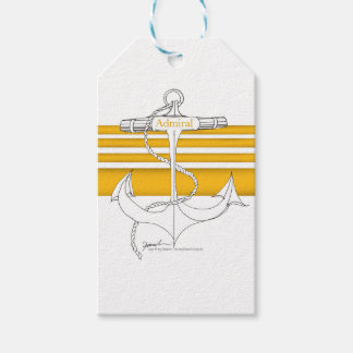 gold admiral, tony fernandes pack of gift tags