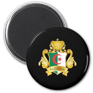 Gold Algeria Magnet