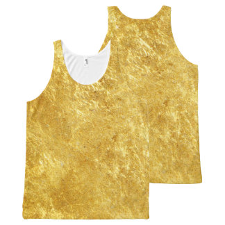 GOLD All-Over-Print TANK TOP