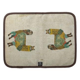 Gold Alpaca & Teal Owl Planner/  Rickshaw