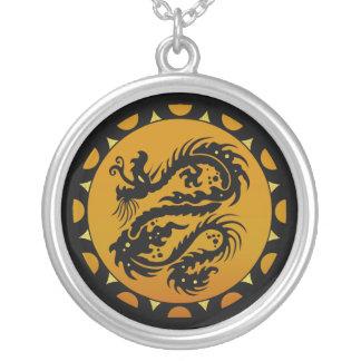 Gold and Black Dragon Fantasy Custom Jewelry