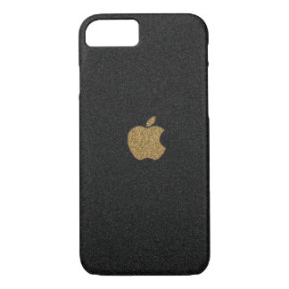 Gold and Black Glitter Apple™ iPhone 7 Case
