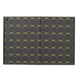 Gold and black powis iPad air 2 case