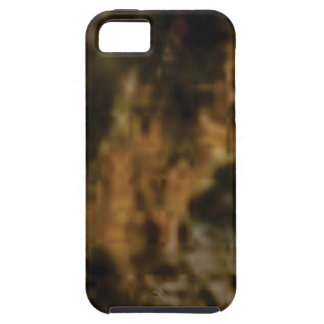 gold and black stone iPhone 5 cover