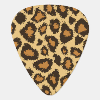 Gold and Brown Jaguar | Personalize Guitar Pick