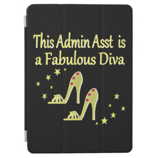 GOLD AND GLITZY ADMIN ASST SHOE LOVER DESIGN iPad AIR COVER