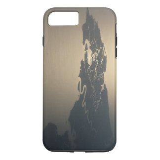 Gold and Land Peninsula by ArtAndra iPhone 7 Plus Case