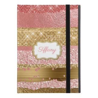 Gold and Pink Glitz iPad Pro 9.7 Case