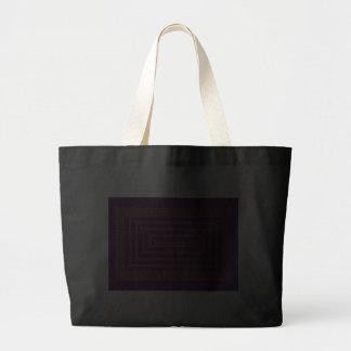 Gold And Purple Celtic Rectangular Spiral Bag