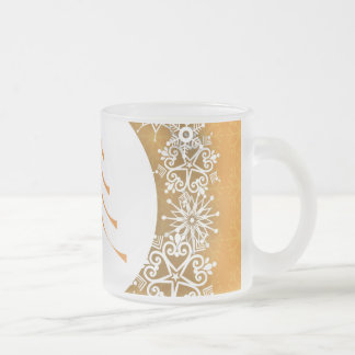 Gold and Silver Christmas Tree Mug