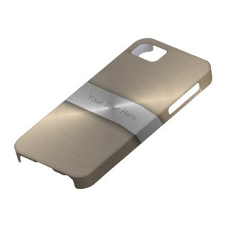Gold And Silver iPhone 5 Covers