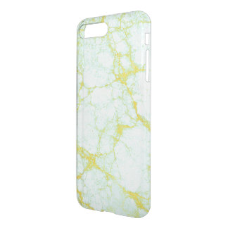 Gold and Teal Marble iPhone 8 Plus/7 Plus Case