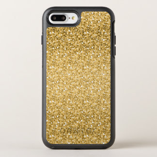 Gold And White Glitter OtterBox Symmetry iPhone 8 Plus/7 Plus Case