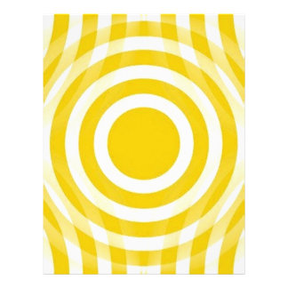 gold_and_white_interlocking_concentric_circles flyer design