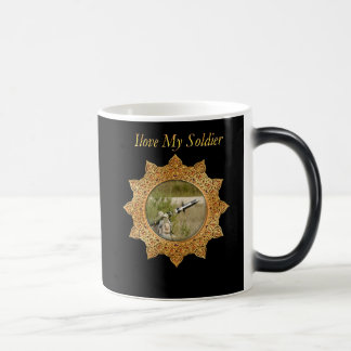Gold Army anti tank guided missile Magic Mug