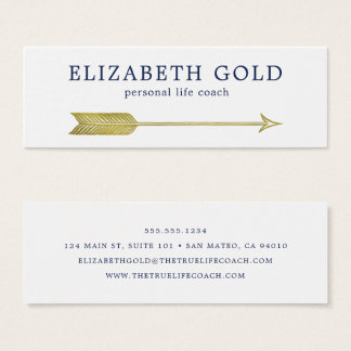 Gold Arrow Business Card
