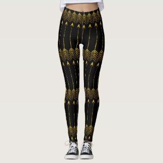 Gold Arrows Any Color Legging