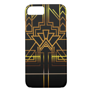 Gold Art Deco Phone Case