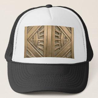 gold, art nouveau,art deco,vintage,chic,elegant trucker hat