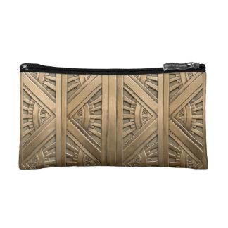 gold, art nouveau,art deco,vintage,chic,elegant,vi cosmetic bag