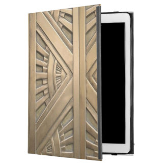 "gold, art nouveau,art deco,vintage,chic,elegant,vi iPad pro 12.9"" case"