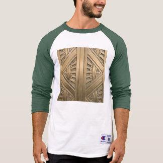 gold, art nouveau,art deco,vintage,chic,elegant,vi T-Shirt
