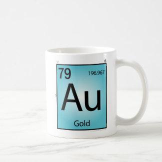 Gold (Au) Element Mug