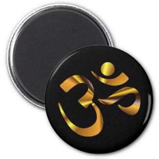 Gold Aum Magnet
