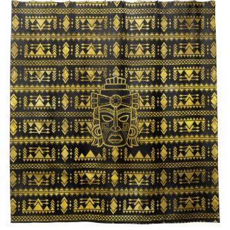 Gold  Aztec Inca Mayan Mask