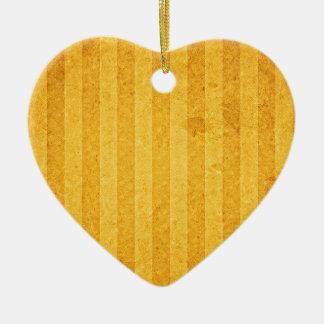 gold-background #2 ceramic heart ornament