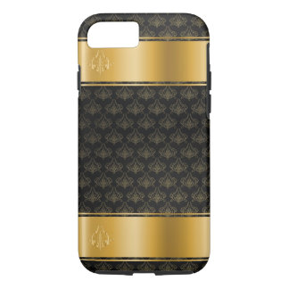 Gold Banded Ornate Casemate iPhone 7 Tough Case
