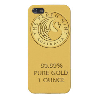 Gold Bar Case For iPhone 5/5S