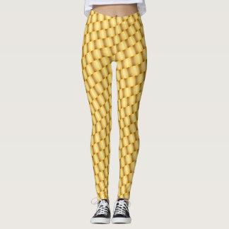 Gold bar leggings