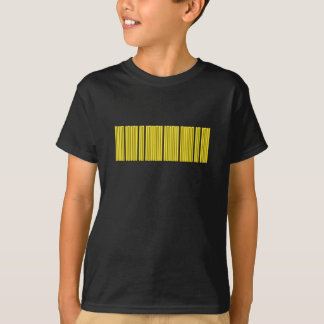 Gold Barcode T-Shirt