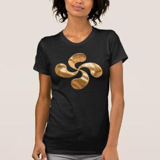 Gold Basque Cross Shirt