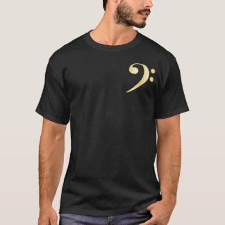 """""""Gold"""" Bass Clef T-Shirt"""
