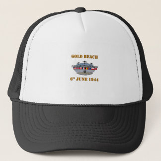 Gold Beach 6th June 1944 Trucker Hat