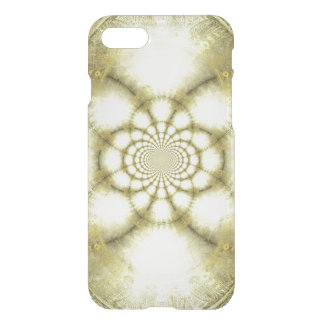 Gold Beige Egyptian Distressed Optical Illusion iPhone 7 Case