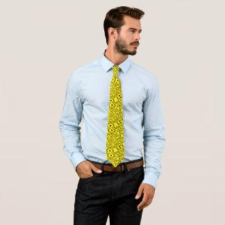Gold Billy Badass Woven Paisley Designer Tie