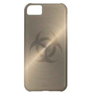 Gold Biohazard Case For iPhone 5C
