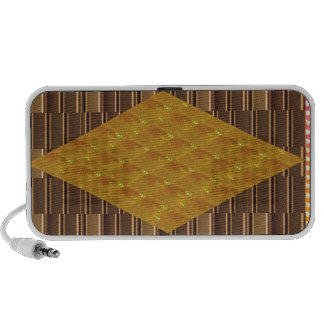 Gold Biscuits Golden Plates Decoration Gifts FUN iPhone Speaker