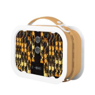 Gold Black Cheetah Bling Lunchboxes