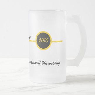 Gold & Black Personalized Grad Mug