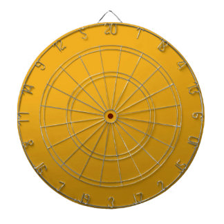 Gold Blank TEMPLATE : Add text, image, fill color Dartboard
