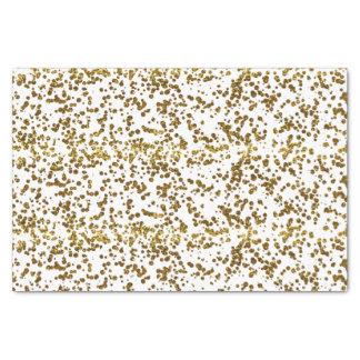 Gold Bling Glitter Confetti Tissue Paper
