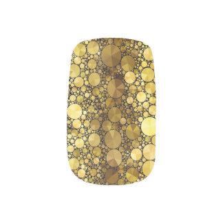Gold Bling Pattern Minx Minx Nail Art