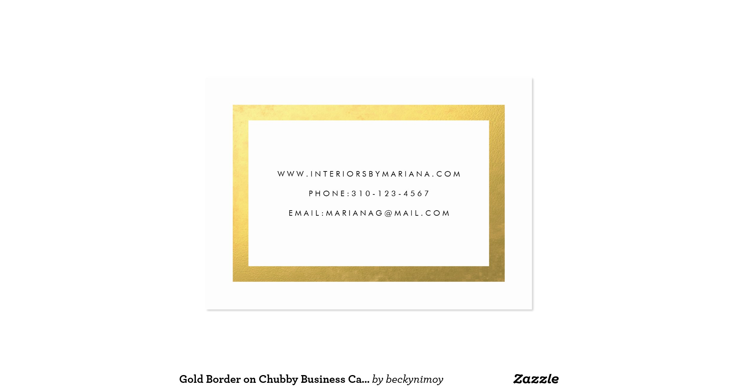 Gold border on chubby business card template zazzle gold border on gold border on chubby business card template zazzle accmission Gallery