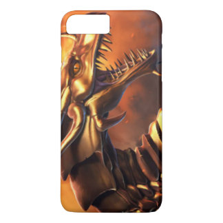 Gold Bronze Robotic Dragon iPhone 7 Plus Case