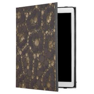 Gold Brown Cheetah Abstract